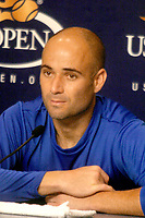 Andre Agassi 8–31-2003<br /> Photo By John Barrett/PHOTOlink