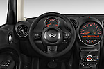 Car pictures of steering wheel view of a 2015 MINI Countryman Base 4 Door Hatchback Steering Wheel