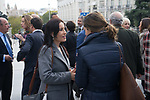 Magdalena Nevado before the Official photo of Parliamentary Group of Vox in Spanish Parlament. November 18 2019. Alterphotos/Francis Gonzalez