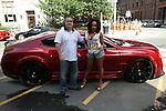Joe and Micelle of Custom Lifestyles By Action Tire - Metropolitan Bikini Fashion Weekend 2013 Held at BOA Sponsored by Social Magazine, Maserati and Ferrari, Hoboken NJ