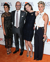 BEL AIR, CA, USA - OCTOBER 22: Nikki Reed, Matt Bershadker, Milla Jovovich, Kaley Cuoco, Kaley Cuoco-Sweeting arrive at the 2014 ASPCA Compassion Award Dinner Gala held at a Private Residence on October 22, 2014 in Bel Air, California, United States. (Photo by Xavier Collin/Celebrity Monitor)