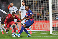 Ansu Fati, Aitor Fernandez<br /> Barcelona 02-02-2020 Camp Nou <br /> Football 2019/2020 La Liga <br /> Barcelona Vs Levante <br /> Photo Paco Larco / Panoramic / Insidefoto <br /> ITALY ONLY