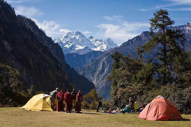 CAMPING at a remote TIBETAN BUDDHIST MONASTERY - NEPAL HIMALAYA
