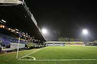 General view of Roots Hall - Southend United vs Swindon Town - nPower League Two Football at Roots Hall, Southend-on-Sea, Essex - 31/01/12 - MANDATORY CREDIT: Gavin Ellis/TGSPHOTO - Self billing applies where appropriate - 0845 094 6026 - contact@tgsphoto.co.uk - NO UNPAID USE.