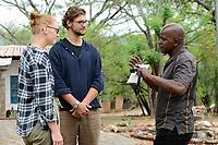 SAMBIA, Distrikt Sinazongwe, Freiwilligendienst bei KDF in Sinazese, Frieda Marie Schmitz und Simon Katzmair