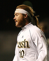 Joseph Lapira of Notre Dame assisted on the first goal and scored the second Notre Dame goal. The University of Notre Dame defeated Oakland University 2-1 in the second round of the NCAA championship at Alumni Field at the University of Notre Dame in South Bend, Indiana on November 28, 2007.
