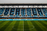 SAN JOSE, CA - SEPTEMBER 13: Earthquake Stadium during a game between Los Angeles Galaxy and San Jose Earthquakes at Earthquakes Stadium on September 13, 2020 in San Jose, California.