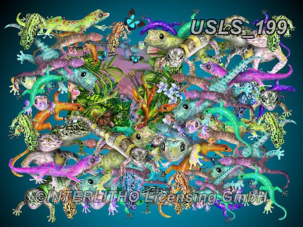 Lori, REALISTIC ANIMALS, REALISTISCHE TIERE, ANIMALES REALISTICOS, zeich, paintings+++++GeckoRescue,USLS199,#a#, EVERYDAY ,puzzle,puzzles
