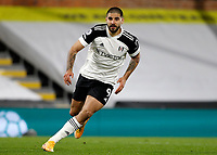 3rd February 2021; Craven Cottage, London, England; English Premier League Football, Fulham versus Leicester City; Aleksandar Mitrovic of Fulham