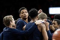 TUCSON, AZ - February 11, 2017: Cal Bears Men's Basketball team vs. the Arizona Wildcats at McKale Center. Final score, Cal Bears 57, Arizona Wildcats 62