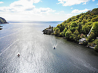 BNPS.co.uk (01202 558833)<br /> Pic: March&Petit/BNPS<br /> <br /> Pictured: The property beside Dartmouth Castle and St Petrox Church.<br /> <br /> The ultimate riverside lifestyle is up for grabs with this waterfront home on the market for £3m.<br /> <br /> Rosebank is in an unrivalled spot on the banks of the River Dart, close to a historic church and castle, with spectacular views over the water.<br /> <br /> The three-bedroom property in Dartmouth, Devon, has its own boathouse and direct access to the river, as well as a superb riverside terrace.<br /> <br /> The house is close to the mouth of the river, with St Petrox Church and Dartmouth Castle as its neighbours, which are just visible from the veranda.