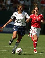 Shannon Boxx USA vs Canada, 2003 WWC Consolation Finals.