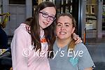 Enjoying the evening in the Brogue Inn on Sunday, l to r: Trisha and Michaela McGlynn.