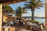 Europe/France/2A/Corse du Sud/Porto-Vecchio: Le Belvédère,  la terrasse du restaurant