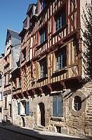 Europe/France/Bretagne/35/Ille-et-Vilaine/Rennes: Maison 6 rue St Yves