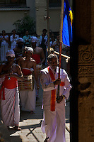 Kandy Buddhist Ceremony at Temple