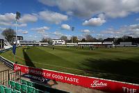 General view of the ground ahead of Essex CCC vs Durham CCC, LV Insurance County Championship Group 1 Cricket at The Cloudfm County Ground on 15th April 2021