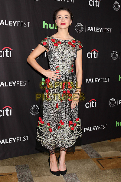 LOS ANGELES, CA - MARCH 19: Caterina Scorsone at the 34th Annual PaleyFest presentation of Grey's Anatomy at the Dolby Theater in Los Angeles, California on March 19, 2017. <br /> CAP/MPI/DE<br /> ©DE/MPI/Capital Pictures