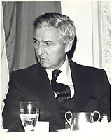 Paul Desmarais, CE0 , POWER CORP,<br /> 19 Fevrier 1980<br /> <br /> <br /> PHOTO : Agence Quebec Prese