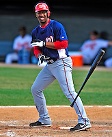 6 March 2009: Washington Nationals' outfielder Destin Hood in action during a Spring Training game against the Baltimore Orioles at Fort Lauderdale Stadium in Fort Lauderdale, Florida. The Orioles defeated the Nationals 6-2 in the Grapefruit League matchup. Mandatory Photo Credit: Ed Wolfstein Photo