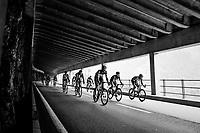 peloton descending<br /> <br /> Stage 5: Gstaad > Leukerbad (155km)<br /> 82nd Tour de Suisse 2018 (2.UWT)
