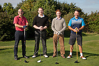 Nottingham Pin - From left, Andy Churchill, Phil Ashford, Martyn Solari and Dave Boultby