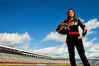 NASCAR Truck Series Driver Caitlin Shaw - 10/07/09