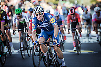 Elia Viviani (ITA/Deceuninck Quick Step) wins the bunch sprint. <br /> <br /> Stage 4: Reims to Nancy (215km)<br /> 106th Tour de France 2019 (2.UWT)<br /> <br /> ©kramon
