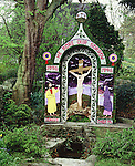 Coffin Well, Tissington Well Dressing, Derbyshire, UK. Celtic Britain published by Orion.