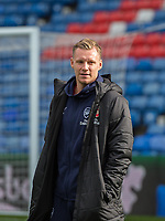 Arsenal's Bernd Leno before the Premier League match between Crystal Palace and Arsenal at Selhurst Park, London, England on 28 October 2018. Photo by Andrew Aleksiejczuk / PRiME Media Images.