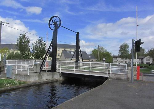 Monasterevin Lifting Bridge on the Barrow Line in Co Kildare