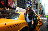 Perth model Jessica Gomes pictured in New York City, where she has liived for 5 years.