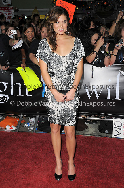 """Nikki Reed  at Summit Entertainment's highly anticipated Premiere of """"Twilight"""" held at The Mann's Village Theatre in Westwood, California on November 17,2008                                                                     Copyright 2008 Debbie VanStory/RockinExposures"""