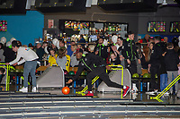 Pictured: Jordon Garrick of Swansea City during the Swansea player and fans bowling evening at Tenpin Swansea, Swansea, Wales, UK. Wednesday 22 January 2020