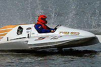 Becky Cravens Brewer, S-12 Fools Gold (1980 Staudacher 2.5 Stock S-Bottom Hydroplane)