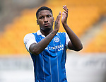 St Johnstone v Sunderland…15.07.17… McDiarmid Park… Pre-Season Friendly<br />Saints trialist Romain Habran applauds the fans at full time<br />Picture by Graeme Hart.<br />Copyright Perthshire Picture Agency<br />Tel: 01738 623350  Mobile: 07990 594431