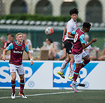 FC Seoul vs West Ham United during the Main tournament of the HKFC Citi Soccer Sevens on 22 May 2016 in the Hong Kong Footbal Club, Hong Kong, China. Photo by Lim Weixiang / Power Sport Images