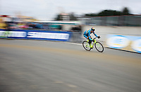 Sven Nys (BEL/Crelan-AAdrinks) at training/recon<br /> <br /> UCI 2016 cyclocross World Championships
