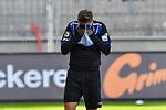 Waldhofs Jan Hendrik Marx (Nr.26)  beim Spiel in der 3. Liga, SV Waldhof Mannheim - Türgücü München.<br /> <br /> Foto © PIX-Sportfotos *** Foto ist honorarpflichtig! *** Auf Anfrage in hoeherer Qualitaet/Aufloesung. Belegexemplar erbeten. Veroeffentlichung ausschliesslich fuer journalistisch-publizistische Zwecke. For editorial use only. DFL regulations prohibit any use of photographs as image sequences and/or quasi-video.