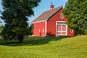 The barn at the Morrison House Museum in Londonderry, New Hampshire USA which is part of scenic New England.