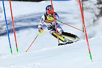 21st February 2021; Cortina d'Ampezzo, Italy; FIS Alpine World Ski Championships 2021 Cortina Men's Slalom;  Alexis Pinturault (FRA) finshed 7th in event
