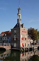 Nederland  Alkmaar- September 2020 .   Het Havengebouw ( de vroegere Accijnstoren ).  Foto : ANP/ Hollandse Hoogte / Berlinda van Dam