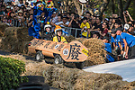 Team 不第一 毋寧死  in action during the Red Bull Soapbox Race 2017 Taipei at Multipurpose Gymnasium National Taiwan Sport University on 01 October 2017, in Taipei, Taiwan. Photo by Victor Fraile / Power Sport Images