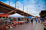 Sante Fe Saturday morning farmers market.