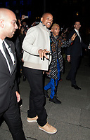 Actor Will Smith with his son Jaden - Inaugural night of the New Louis Vuitton Store at place VendÙme in Paris, France, October 2 2017. # LES PEOPLE ARRIVENT A LA NOUVELLE BOUTIQUE 'LOUIS VUITTON' A PARIS