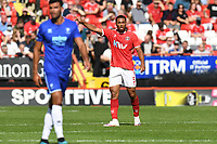 Akin Famewo of Charlton Athletic FC during Charlton Athletic vs Cheltenham Town, Sky Bet EFL League 1 Football at The Valley on 11th September 2021