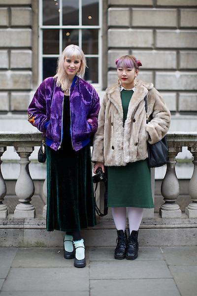 Lenna Fox and Ruru