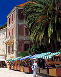 Kroatien, Dalmatien, Hvar: Hauptort der gleichnamigen Insel   Croatia, Dalmatia, Hvar: main town on identical island