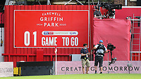 Last game to be played at Griffin Park before Brentford move to their new stadium at Kew Bridge during Brentford vs Swansea City, Sky Bet EFL Championship Play-Off Semi-Final 2nd Leg Football at Griffin Park on 29th July 2020