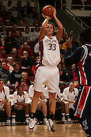 19 January 2006: Jillian Harmon during Stanford's win over the University of California Golden Bears at Maples Pavilion in Stanford, CA.
